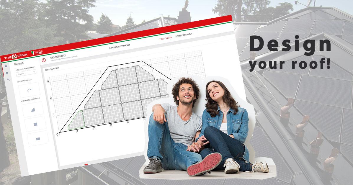 software disposizione pannelli fotovoltaici su tetto