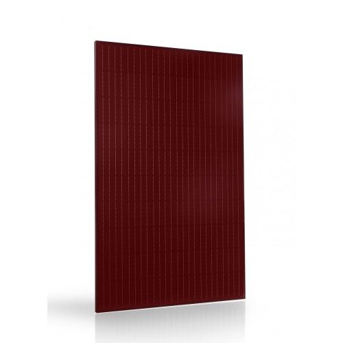 pannello fotovoltaico rosso alta efficienza design Trienergia TRIxxxBC-RR 60 celle