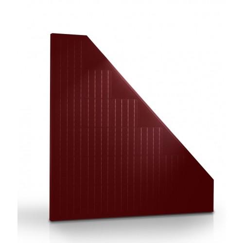 pannelli fotovoltaici rossi triangolari alta efficienza Trienergia TRIxxxBC-RR 21 celle