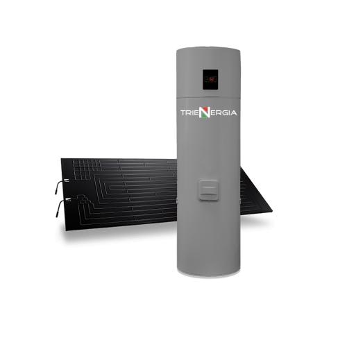Kit Pannello Solare Termodinamico + Boiler Pompa Calore Trienergia TRI-TE