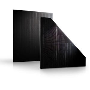 Pannelli fotovoltaici monocristallini triangolari e rettangolari Trienergia System